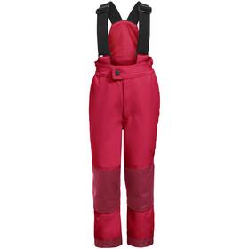 VAUDE Snow Cup III Pantalon Enfant, rouge